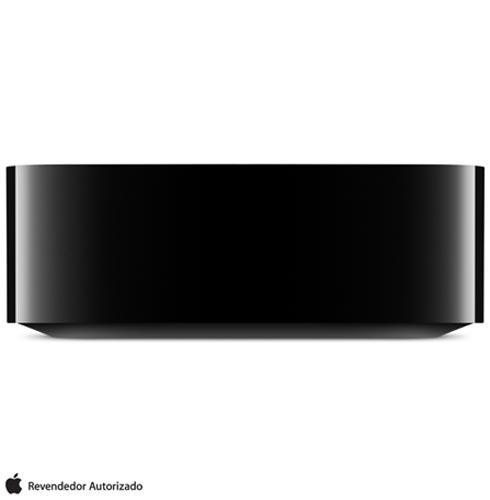 Apple TV com 32 GB e Processador A8 Preto - Apple - MGY52BZA + Controle Remoto para Apple TV Preto - MG2Q2BEA, 0