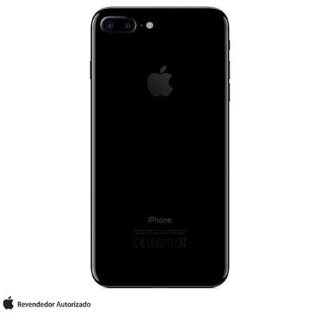 iPhone 7 Plus Preto Brilhante, 5,5, 128GB - MN4V2BZ/A + Cabo Lightning USB Apple para iPod, iPhone e iPad  MD818BZ/A, 1