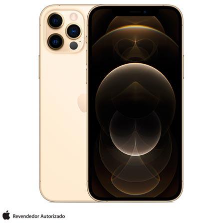 Celular Smartphone Apple iPhone 12 Pro Max 512gb Dourado - Dual Chip