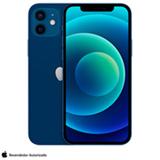 iPhone 12 Mini Azul, com Tela de 5,4', 5G, 128 GB e Câmera Dupla de 12MP Ultra-angular + 12MP Grande-angular - MGE63BZ/A