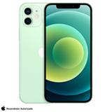 iPhone 12 Verde, com Tela de 6,1', 5G, 64 GB e Câmera Dupla de 12MP Ultra-angular + 12MP Grande-angular - MGJ93BZ/A