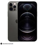 iPhone 12 Pro Grafite, com Tela de 6,1', 5G, 256 GB  e Câmera Tripla de 12MP - MGMP3BZ/A