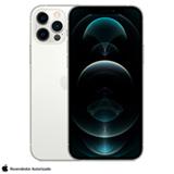 iPhone 12 Pro Prateado, com Tela de 6,1', 5G, 256 GB e Câmera Tripla de 12MP - MGMQ3BZ/A