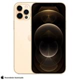 iPhone 12 Pro Dourado, com Tela de 6,1' 5G, 256 GB e Câmera Tripla de 12MP - MGMR3BZ/A