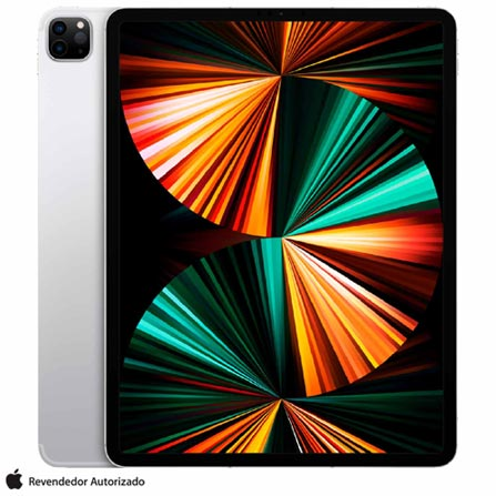 Tablet Apple Ipad Pro Mhr53bz/a Prata 128gb 4g