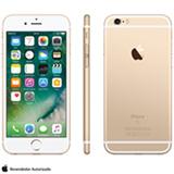 """iPhone 6s Dourado, com Tela de 4.7"""" 4G, 16 GB, e Câmera de 12 MP - MKQL2BR/A"""