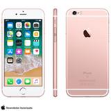 """iPhone 6s Rosa Dourado, com Tela de 4.7"""" 4G, 16 GB, e Câmera de 12 MP - MKQM2BR/A"""