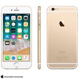 """iPhone 6s Dourado, com Tela de 4.7"""" 4G, 128 GB, e Câmera de 12 MP - MKQV2BR/A"""