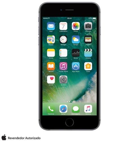 """iPhone 6s Plus Cinza Espacial com Tela de 5,5"""", 4G, 128 GB e Câmera de 12 MP - MKUD2BZA, Cinza, 0000005.50, True, 1, N, True, True, True, True, True, True, I, iPhone 6s Plus, iOS, Wi-Fi + 4G, 5.5'', Acima de 4'', A9, 128 GB, 12 MP, 1, Não, Não, Sim, Não, Sim, Nano Chip, 12 meses"""