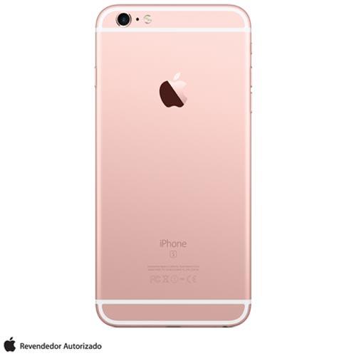 """iPhone 6s Plus Rosa Dourado, com Tela de 5.5"""" 4G, 128 GB, e Câmera de 12 MP - MKUG2BZA, Rosa, 0000005.50, True, 1, N, True, True, True, True, True, True, I, iPhone 6s Plus, iOS, Wi-Fi + 4G, 5.5'', Acima de 4'', A9, 128 GB, 12 MP, 1, Não, Não, Sim, Não, Sim, Nano Chip, 12 meses"""