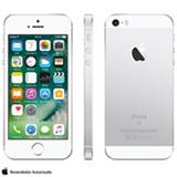 """iPhone SE Prata, com Tela de 4"""", 4G, 16 GB e Câmera de 12 MP - MLLP2BZ/A"""
