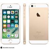 """iPhone SE Dourado, com Tela de 4"""", 4G, 16 GB e Câmera de 12 MP - MLXM2BR/A"""