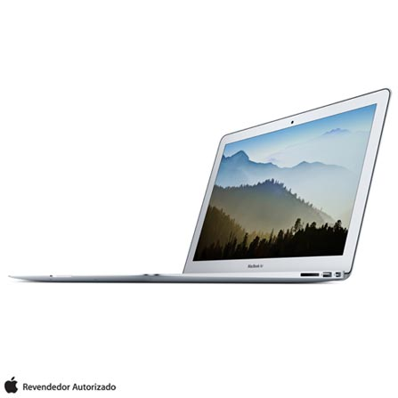 MacBook Air com Intel® Core™ i5, 8 GB, 128 GB, OS X El Capitan e Tela de 13,3'', Prata - MMGF2BZ/A, Bivolt, Bivolt, Prata, 0000013.30, 128 GB, 000004, 1, APPLE, INTEL, 0, CORE I5, OS X El Capitan, 0000013.30, N/A, OS X El Capitan, Intel Core i5, 8 GB, 128 GB, 13.3'', Até 13,9'', LED, Não, Sim, Não, Não, Não, Sim, 12 meses