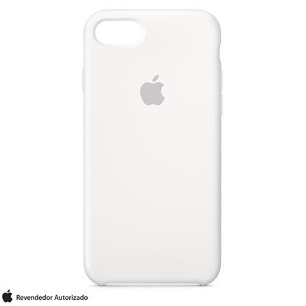 Capa Protetora para iPhone 7 e 8 de Silicone Branca - Apple - MMWF2ZMA, Branco, Capas, Cases e Mochilas, 12 meses