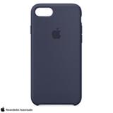 Capa para iPhone 7 e 8 de Silicone Azul Meia-noite - Apple - MMWK2ZM/A