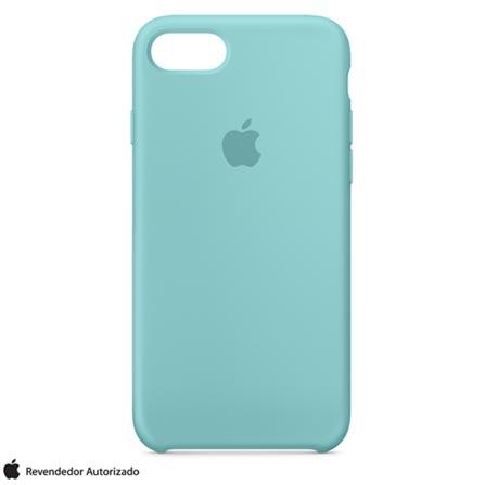 Capa Protetora para iPhone 7 de Silicone Azul Mar - Apple - MMX02ZMA, Azul, Capas, Cases e Mochilas, 12 meses