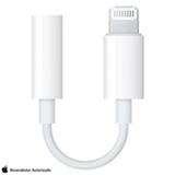 Adaptador Lightning para Fone de Ouvido de iPhone e iPad Branco - Apple - MMX62BZ/A