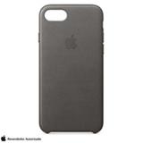 Capa para iPhone 7 e 8 de Couro Cinza Tempestade - Apple - MMY12ZM/A