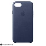 Capa para iPhone 7 de Couro Azul Meia-Noite - Apple - MMY32ZM/A