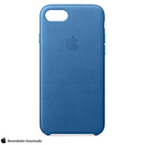 Capa para iPhone 7 de Couro Azul Mar - Apple - MMY42ZM/A