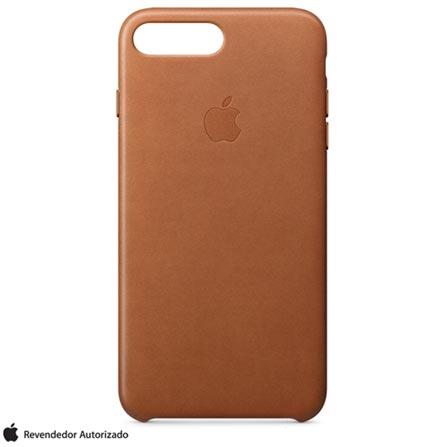 Capa para iPhone 7 Plus de Couro Castanho - Apple - MMYF2ZM/A, Bege, Capas e Protetores, 12 meses