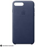 Capa para iPhone 7 e 8 de Couro Azul Meia-Noite - Apple - MMYG2ZM/A