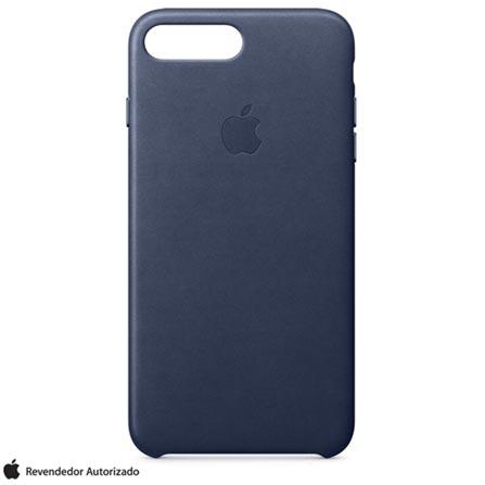 Capa para iPhone 7 de Couro Azul Meia-Noite - Apple - MMYG2ZM/A, Azul, Capas e Protetores, 12 meses