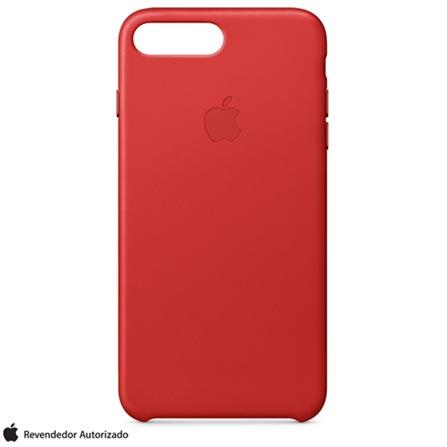 Capa para iPhone 7 Plus de Couro Vermelho - Apple  MMYK2ZM/A, Vermelho, Capas e Protetores, 12 meses