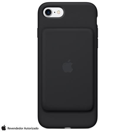 Capa Carregadora para iPhone 7 e 8 Preta - Apple - MGQM2BZ/A, Preto, Capas e Protetores, 12 meses