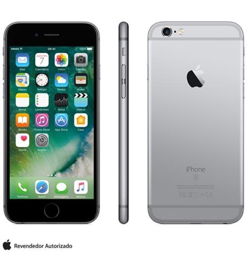 """iPhone 6s Cinza Espacial, com Tela de 4,7"""", 4G, 32 GB e Câmera de 12 MP - MN0W2BRA, Bivolt, Bivolt, Cinza, 0000004.70, True, 1, N, True, True, True, True, True, True, I, iPhone 6s, iOS, Wi-Fi + 4G, 4.7'', Acima de 4'', A9, 32 GB, 12 MP, 1, Não, Sim, Sim, Não, Sim, Nano Chip, 12 meses"""