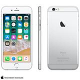 """iPhone 6s Prata, com Tela de 4,7"""", 4G, 32 GB e Câmera de 12 MP - MN0X2BRA"""