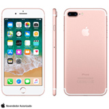 "iPhone 7 Plus Ouro Rosa, com Tela de 5,5"", 4G, 128 GB e Câmera de 12 MP - MN4U2BZ/A"