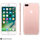 "iPhone 7 Plus Ouro Rosa, com Tela de 5,5"", 4G, 256 GB e Câmera de 12 MP - MN502BZ/A"