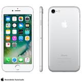 """iPhone 7 Prata com Tela de 4,7"""", 4G, 32 GB e Câmera de 12 MP - MN8Y2BR/A"""