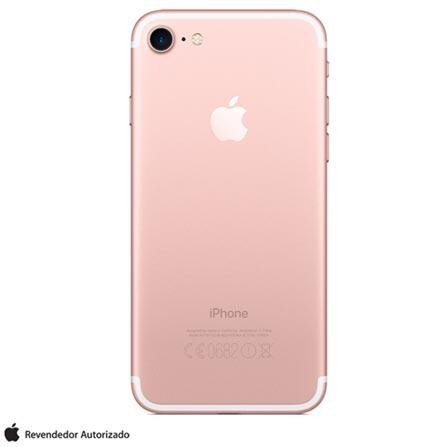 """iPhone 7 Ouro Rosa com Tela de 4,7"""", 4G, 32 GB e Câmera de 12 MP - MN912BR/A, Bivolt, Bivolt, Rosa, 0000004.70, True, 1, N, True, True, True, True, True, True, I, iOS, Wi-Fi + 4G, 4.7'', Acima de 4'', A10, 32 GB, 12 MP, 1, Não, Não, Nano Chip, 12 meses"""