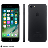 iPhone 7 Preto Matte com Tela de 4,7, 4G, 128 GB e Camera de 12 MP - MN922BZ/A