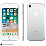 """iPhone 7 Prata com Tela de 4,7"""", 4G, 128 GB e Câmera de 12 MP - MN932BR/A"""