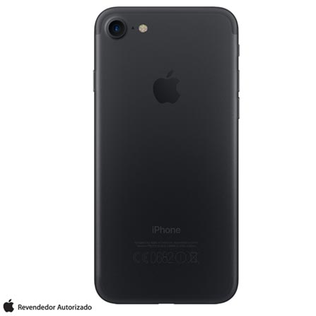 """iPhone 7 Preto Matte com Tela de 4,7"""", 4G, 256 GB e Câmera de 12 MP - MN972BR/A, Bivolt, Bivolt, Preto, 0000004.70, True, 1, N, True, True, True, True, True, True, I, iOS, Wi-Fi + 4G, 4.7'', Acima de 4'', A10, 256 GB, 12 MP, 1, Não, Não, Nano Chip, 12 meses"""