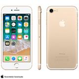 """iPhone 7 Dourado com Tela de 4,7"""", 4G, 256 GB e Câmera de 12 MP - MN992BR/A"""