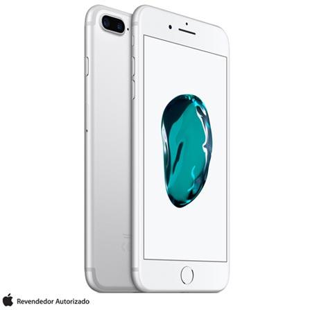 iPhone 7 Plus Prata, com Tela de 5,5, 4G, 32 GB e Camera de 12 MP - MNQN2BZ/A, Bivolt, Bivolt, Prata, 0000005.50, True, 1, N, True, True, True, True, True, True, I, iPhone 7 Plus, iOS, Wi-Fi + 4G, 5.5'', Acima de 4'', A10, 32 GB, 12 MP, 1, Sim, Sim, Não, Sim, Nano Chip, 12 meses