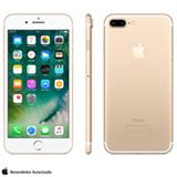 """iPhone 7 Plus Dourado, com Tela de 5,5"""", 4G, 32 GB e Câmera de 12 MP - MNQP2BZ/A"""
