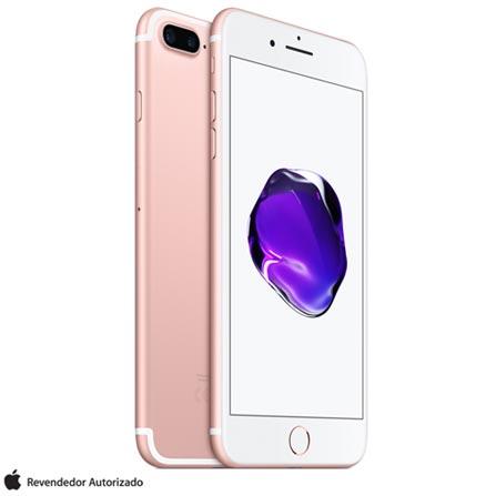 """iPhone 7 Plus Ouro Rosa, com Tela de 5,5"""", 4G, 32 GB e Câmera de 12 MP - MNQQ2BZ/A, Bivolt, Bivolt, Rosa, 0000005.50, True, 1, N, True, True, True, True, True, True, I, iPhone 7 Plus, iOS, Wi-Fi + 4G, 5.5'', Acima de 4'', A10, 32 GB, 12 MP, 1, Não, Não, Nano Chip, 12 meses"""