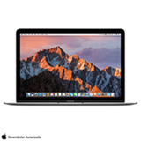 "MacBook Apple, Intel® Core™ i5, 8GB, 512GB, Tela de 12"", Cinza Espacial - MNYG2BZ/A"