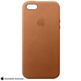 Capa para iPhone 5/5S/SE 2016 em Couro Castanha - Apple - MNYW2BZ/A