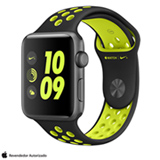 Apple Watch Nike+ Cinza Espacial com Pulseira Esportiva Preta e Volt, 42 mm, Wi-Fi, Bluetooth e 8 GB