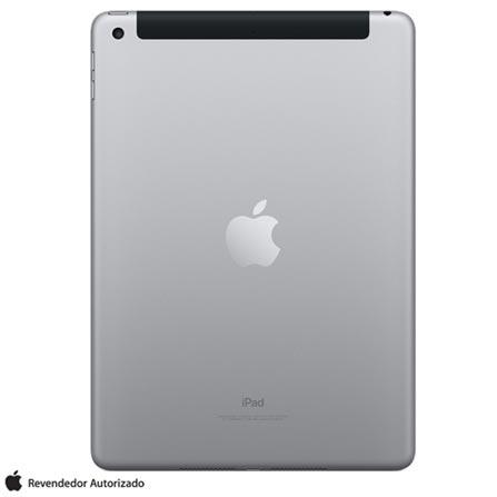 """iPad Cinza Espacial com Tela de 9,7"""", 4G, 128 GB e Processador A9 - MP262BZ/A, Bivolt, Bivolt, Cinza, 0000009.70, 000128, 1, N, APPLE, 003412, A9, iOS, 0000009.70, I, Nano Chip, Sim, 8.0 MP, 128 GB, Wi-Fi + 4G, 12 meses, Não, Sim, A9, Não, iOS, Até 10'', 9.7'', Retina, Não"""