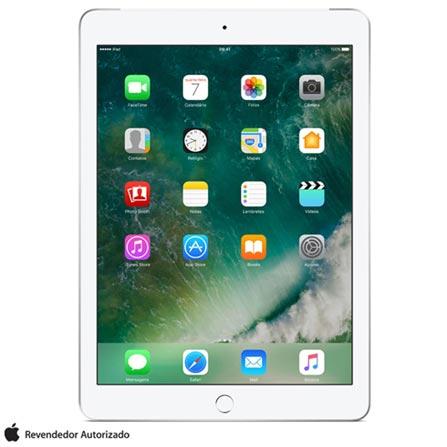 """iPad Prata com Tela de 9,7"""", 4G, 128 GB e Processador A9 - MP272BZ/A, Bivolt, Bivolt, Prata, 0000009.70, 000128, 1, N, APPLE, 003412, A9, iOS, 0000009.70, I, Nano Chip, Sim, 8.0 MP, 128 GB, Wi-Fi + 4G, 12 meses, Não, Sim, A9, iOS, Até 10'', 9.7'', Retina, Não"""