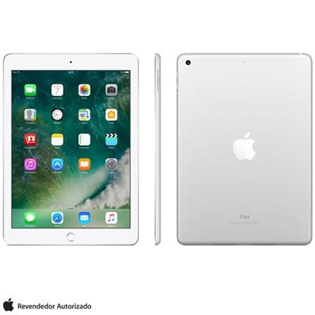 """iPad Prata com Tela de 9,7"""", Wi-Fi, 128 GB e Processador A9 - MP2J2BZ/A, Bivolt, Bivolt, Prata, 0000009.70, 000128, 1, N, APPLE, 003412, A9, iOS, 0000009.70, Sim, 8.0 MP, 128 GB, Wi-Fi, 12 meses, Não, Sim, A9, Não, iOS, Até 10'', 9.7'', Retina, Não"""