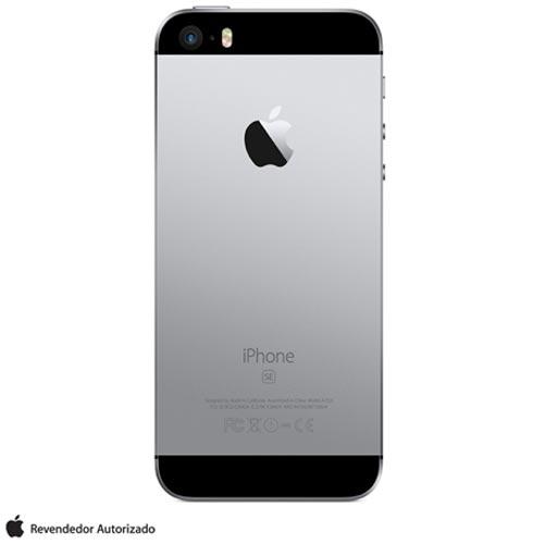 """iPhone SE Cinza Espacial, com Tela de 4"""", 4G, 32 GB e Câmera de 12 MP - MP822BR/A, Cinza, 0000004.00, True, 1, N, True, True, True, True, True, True, I, iPhone SE, iOS, Wi-Fi + 4G, 4'', Até 4'', A9, 32 GB, 12 MP, 1, Não, Sim, Sim, Não, Sim, Nano Chip, 12 meses"""