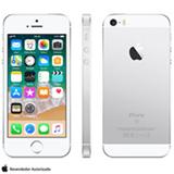 """iPhone SE Prata, com Tela de 4"""", 4G, 32 GB e Câmera de 12 MP - MP832BR/A"""